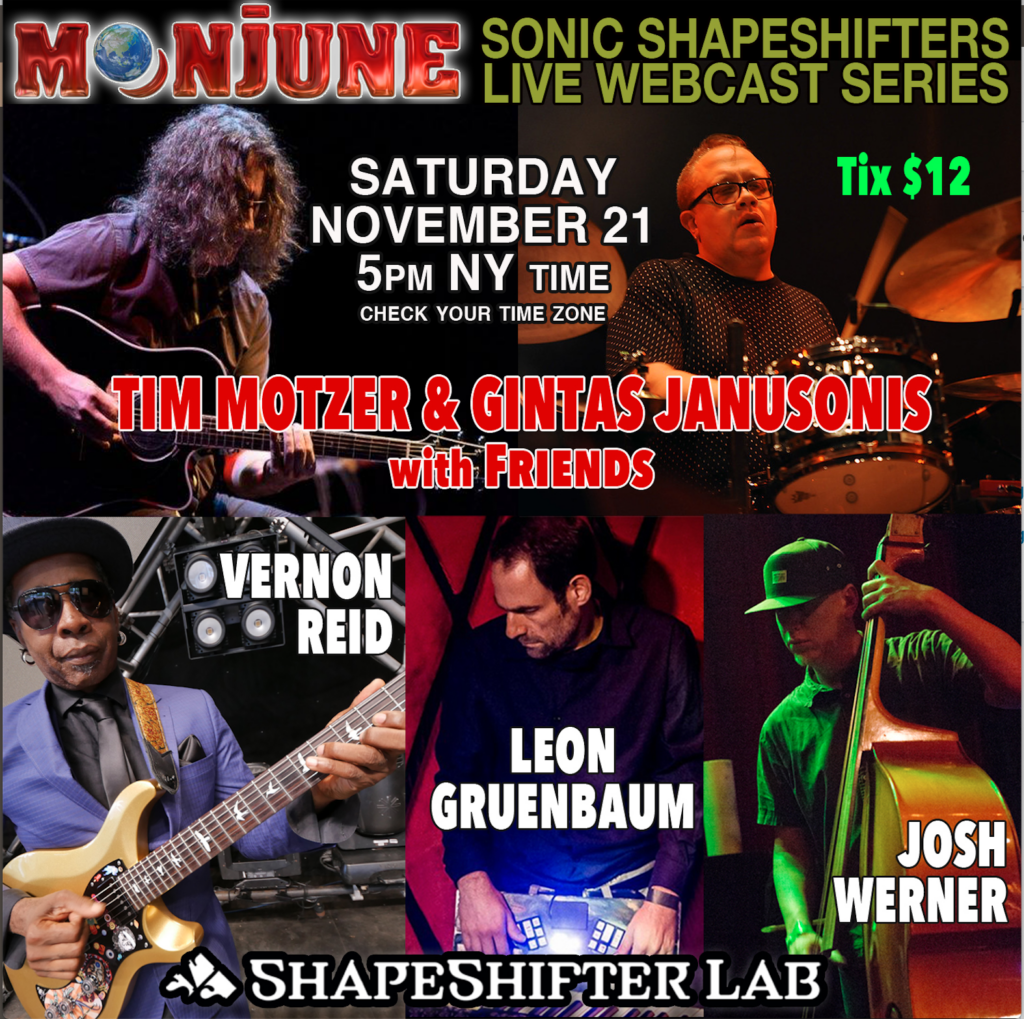 MoonJune presents Sonic Shapeshifter Live Webcast Series - Chapter 3
